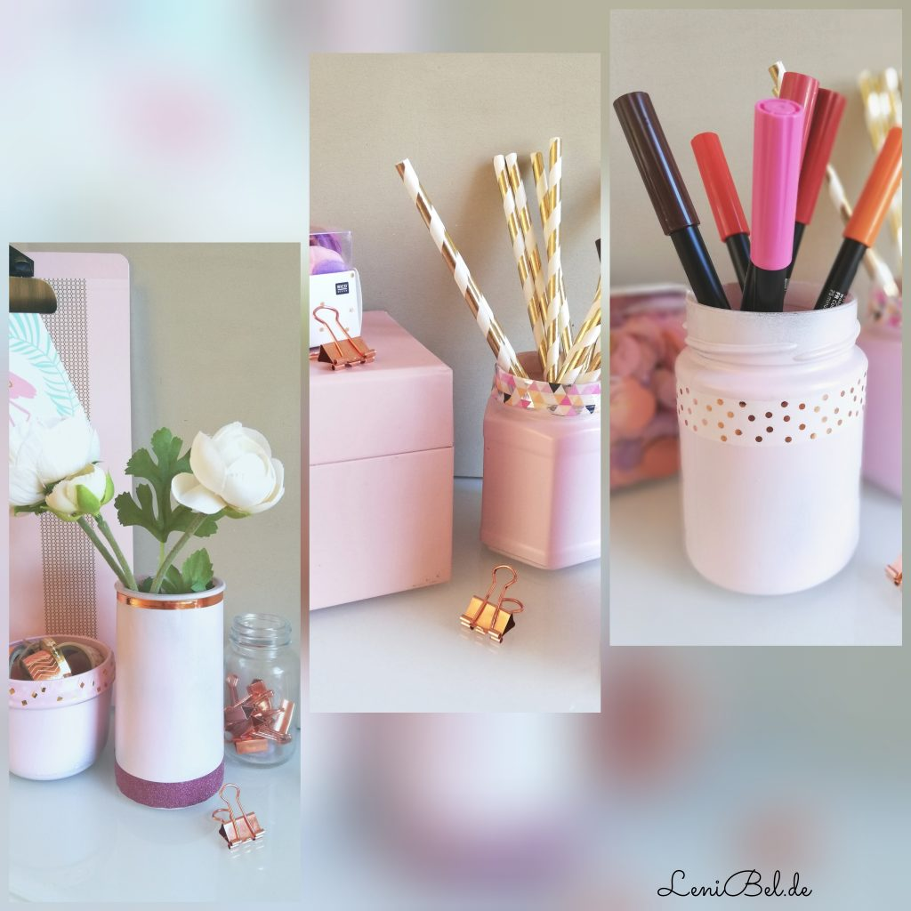 DIY Deko Altglas Upcycling