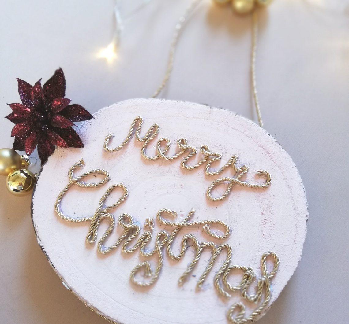 Wand Deko Weihnachten