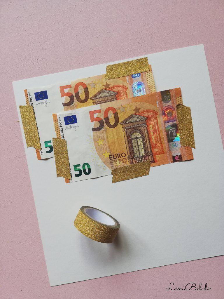 Geldgeschenk Hochzeit / Hausbau