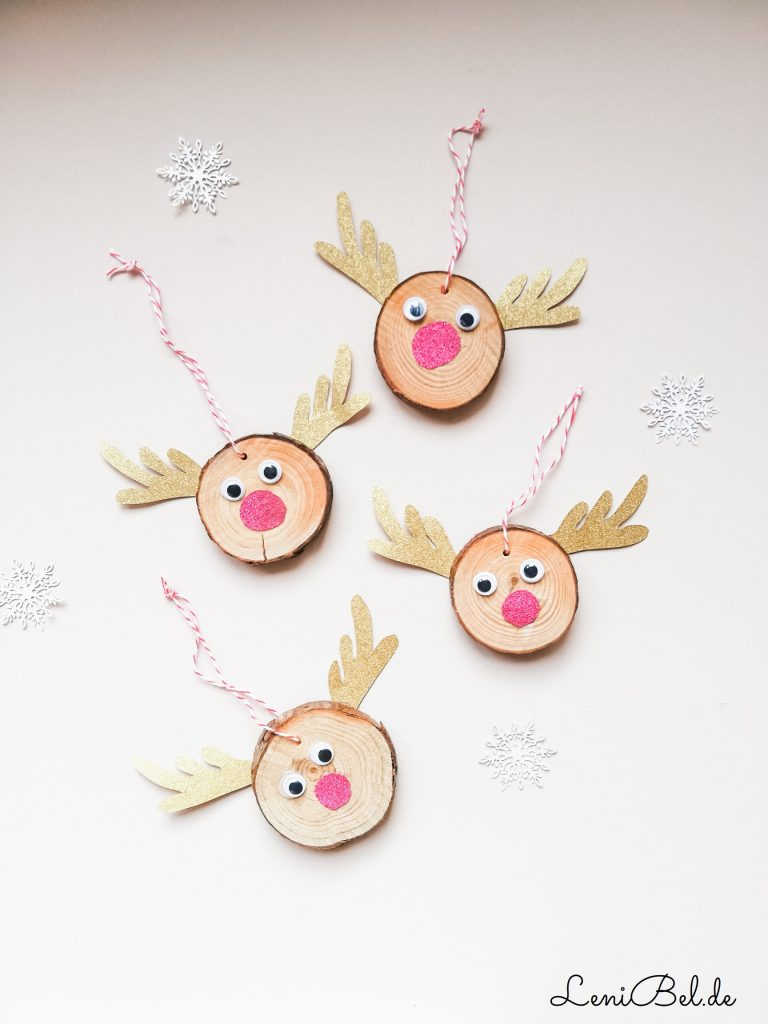 Weihnachtsbaumanhänger Rudolph
