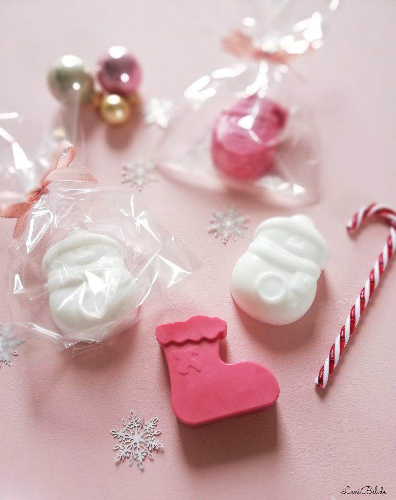 Seife selber machen für Weihnachten